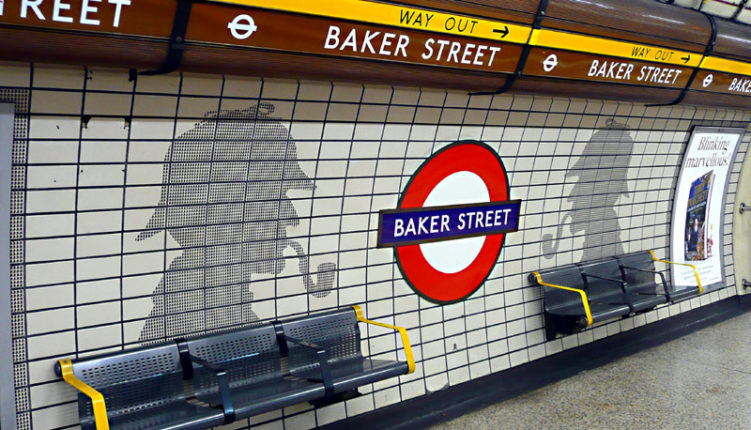 The London Underground - Baker Street - Short Let London